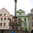 スヴォルノスティ広場 ペスト終焉記念塔