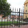 チェスキークルムロフ城が見える丘