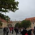 チェスキークルムロフ城 内庭