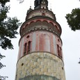 チェスキークルムロフ城 塔