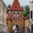 可愛い城門