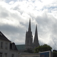 ノートルダム大聖堂が見えます