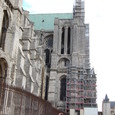 大聖堂は修理中ですね