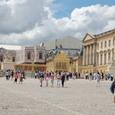 ベルサイユ宮殿前広場