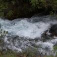 九寨溝 珍珠灘瀑布の流れ