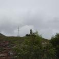キリスト像が街を見守る