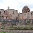 インカの太陽神殿の上にスペインは教会を