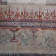 スペインは神殿に漆喰を塗り壁画を描いた