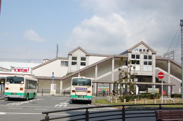 JR桜井駅に戻りました