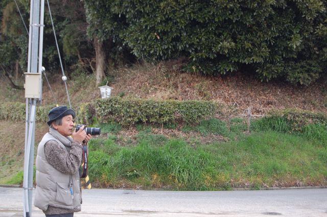 カメラを構えるMuさん