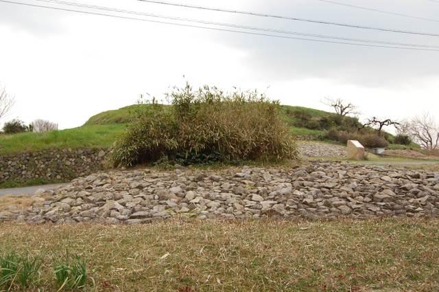 ホケノ山前方部