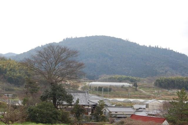 ホケノより三輪山を拡大撮影
