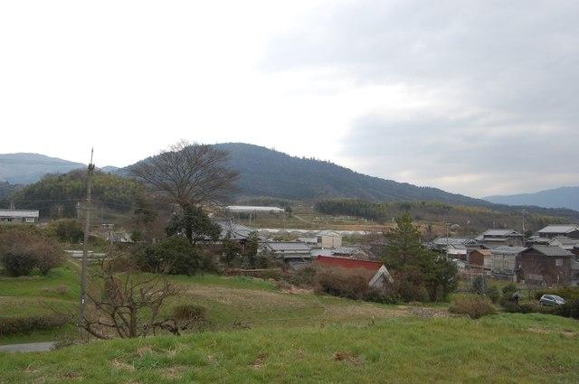 ホケノから三輪山へ続く尾根