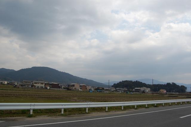 箸墓と三輪山