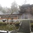 雪の中雀門