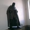バッハの像です