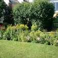 ゲーテハウス裏庭