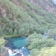 谷底を流れるフロム川