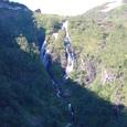 迫力ある滝