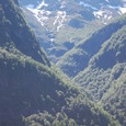 標高1660メータの山々