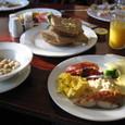 フロムでの朝食