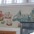 ベルゲン駅 壁画
