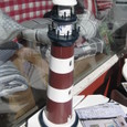 ベルゲンの灯台模型