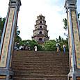 ティエンムー寺 七層八角形の塔