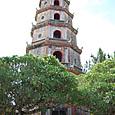 ティエンムー寺 七層八角形の塔 高さ21㍍