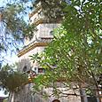 ティエンムー寺 七層八角形の塔 煉瓦作り