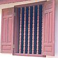 アンコールワットの連子窓と類似