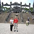 カイディン帝廟 記念写真