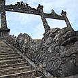 カイディン帝廟 中国風 龍の階段