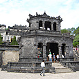カイディン帝廟 欧州風の建物
