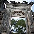 カイディン帝廟 凱旋門のようです
