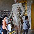 フランス風の軍服姿の皇帝