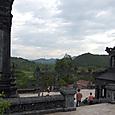 黄昏迫るカイディン帝廟