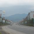 成都から眺める峨眉山