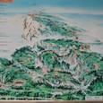 峨眉山概要図(26の寺院が存在)