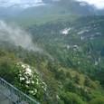 金頂山から眼下を眺める