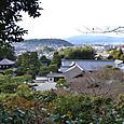 銀閣 を見下ろし吉田山