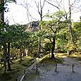 銀閣裏山の庭