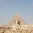 スフインクスとカフラー王ピラミッド