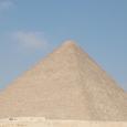 大スフインクス=クフ王ピラミッド