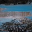 黄龍 五彩池 淡いブルーが素晴らしい