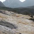 黄龍 五彩池から岷山山脈を観る