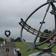 天球儀と人間の環