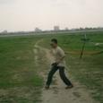 ハンドランチグライダー 投げる