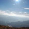 八ヶ岳方面を遠望