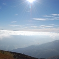 霧ヶ峰、八ヶ岳方面